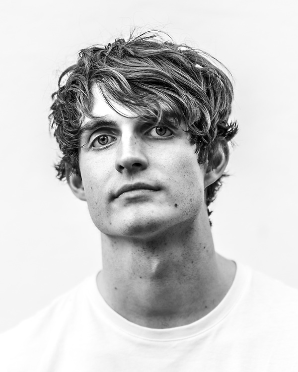 Rob Ellis of British indie-rock band Cassia backstage at the Open Ohr Festival