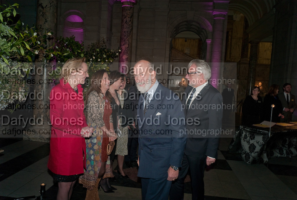 PRINCE MICHAEL OF KENT, Cecil Beaton private view. V and A Museum. London. 6 February 2012
