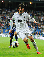 SEP 30 2012 Real Madrid C. F. 5 vs 1 Deportivo de la Coruna