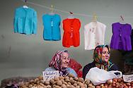 Vendors at the Saturday market in Inebolu.