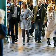 NLD/Amsterdam/20101103- Signeersessie voor haar door Prinses Martha Louise en Elisabeth Sanoy,