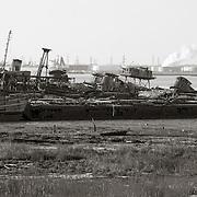 Panorama of Boatyard