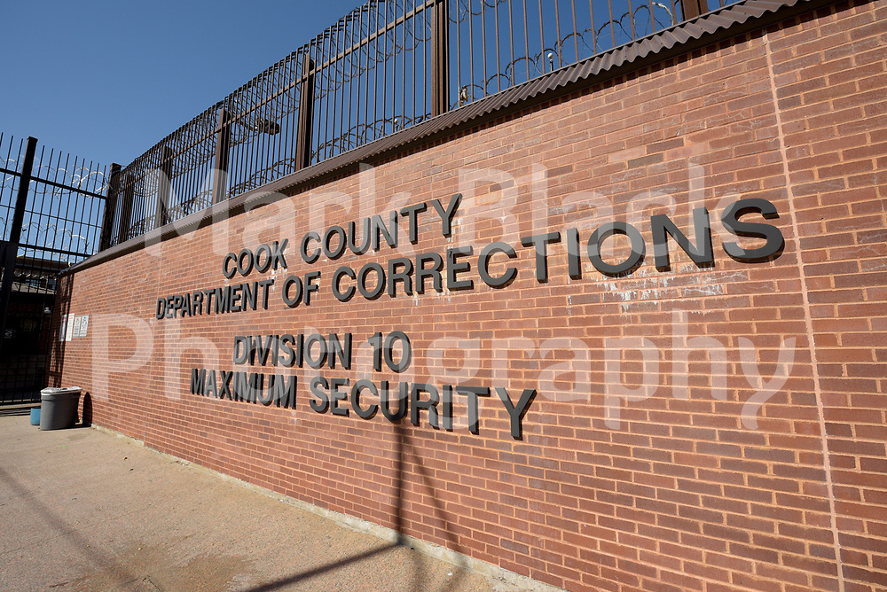 Cook County Department of Corrections Jail Division 10 Maximum Securty in Chicago on Wednesday, Aug. 19, 2020.  Photo by Mark Black
