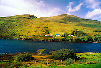Near Leenane, Killary Harbour, Connemara, County Galway, Ireland