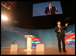 Grant Shapps  at  the Conservative Party Conference in Birmingham, Sunday,  October 7th 2012. Photo by: Stephen Lock / i-Images