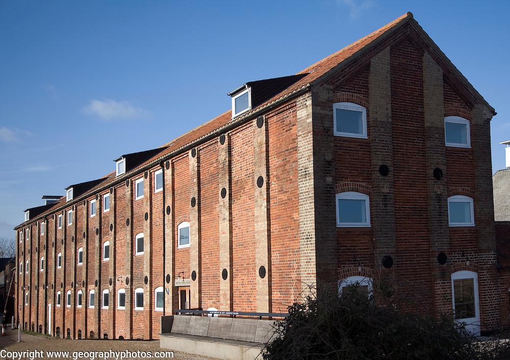 Britten Pears building, Snape maltings, Suffolk, England