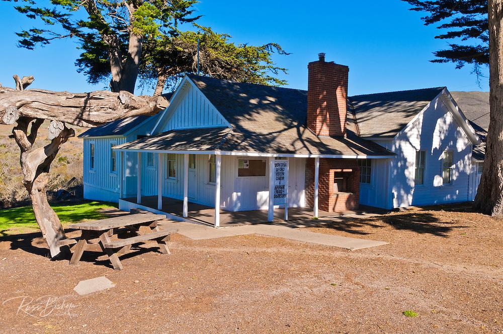 Spooner Ranch House Visitor center, Montana de Oro State Park, California USA