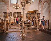 Sala modlitewna w Wielkiej Synagodze, Tykocin, Polska<br /> Prayer hall in the Jewish Synagogue, Tykocin, Poland