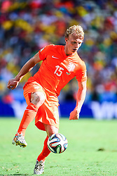 29.06.2014, Castelao, Fortaleza, BRA, FIFA WM, Niederlande vs Mexico, Achtelfinale, im Bild Dirk Kuyt (Niederlande) // during last sixteen match between Netherlands and Mexico of the FIFA Worldcup Brazil 2014 at the Castelao in Fortaleza, Brazil on 2014/06/29. EXPA Pictures © 2014, PhotoCredit: EXPA/ fotogloria/ Best Photo Agency<br /> <br /> *****ATTENTION - for AUT, FRA, POL, SLO, CRO, SRB, BIH, MAZ only*****