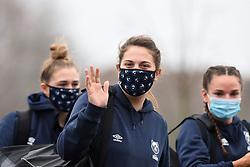 Players arrive at Shaftesbury Park - Mandatory by-line: Paul Knight/JMP - 28/11/2020 - RUGBY - Shaftesbury Park - Bristol, England - Bristol Bears Women v Saracens Women - Allianz Premier 15s