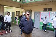 """Tijuana 2015.<br /> Father """"Pat"""" Murphy, director of the migrants house of Tijuana.<br /> Padre """"Pat"""" Murphy, direttore della casa del migrante."""