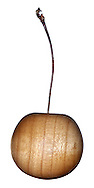 Turned wooden cherry
