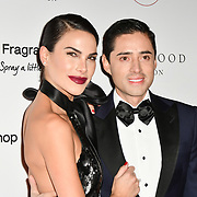 Carla Barber and José Ramón Ladra Arrivers at The Global Gift Gala red carpet - Eva Longoria hosts annual fundraiser in aid of Rays Of Sunshine, Eva Longoria Foundation and Global Gift Foundation on 2 November 2018 at The Rosewood Hotel, London, UK. Credit: Picture Capital