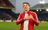 Sheffield United's Sander Berge celebrates after the Premier League match at Selhurst Park, London. Picture date: 1st February 2020. Picture credit should read: Paul Terry/Sportimage