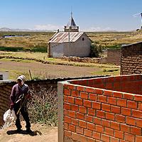 South America, Bolivia, Pariti. Local rsident of Pariti.