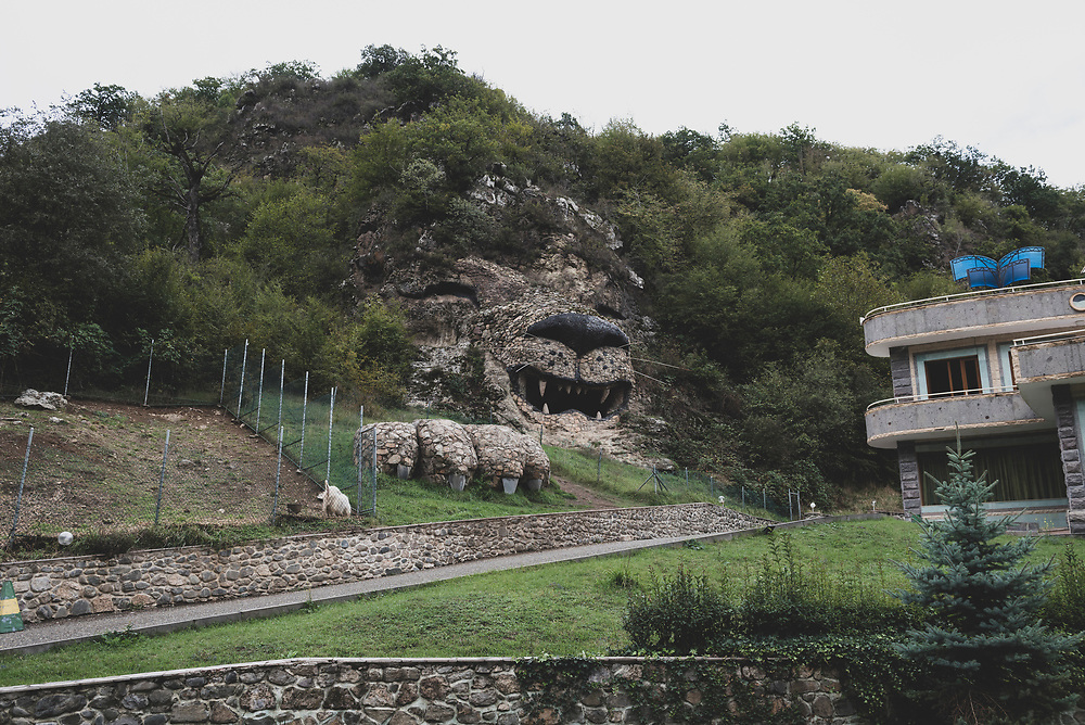 The Lion Cave in the village of Vank, in the Martakert district of Nagorno-Karabakh.<br /> <br /> (September 25, 2016)