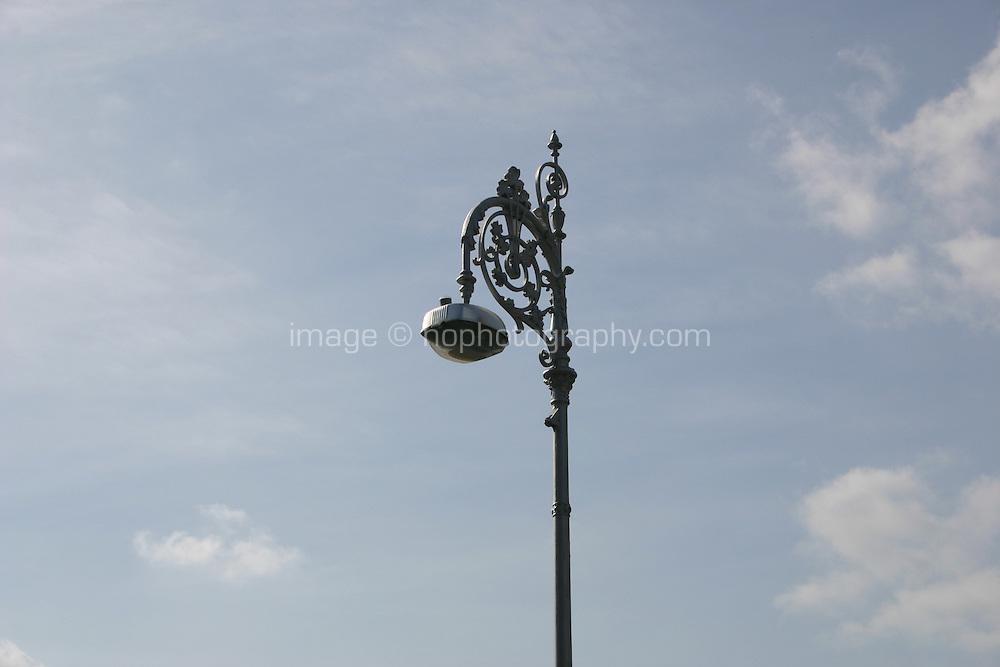 Street lamp in Dublin Ireland