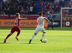 September 30, 2018 - Harrison, New Jersey, United States - Hector Villalba (15) of Atlanta United FC controls ball during regular MLS game against Red Bulls at Red Bull Arena Red Bulls won 2 - 0  (Credit Image: © Lev Radin/Pacific Press via ZUMA Wire)
