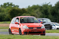 Michael Ward pictured competing in the 750 Motor Club's Clio 182 Championship. Image captured at Snetterton on July 18, 2020 by 750 Motor Club's photographer Jonathan Elsey