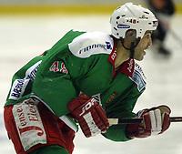 Ishockey, Eliteserien 16. januar 2003, Frisk Asker - Trondheim TIK 5-3. Jeff Norton , Frisk