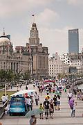 The Bund promenade Shanghai, China