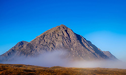 Early morning sunlight strikes the face of Buachaille Etive Mòr, Rannoch Moor, highlands of Scotland<br /> <br /> (c) Andrew Wilson | Edinburgh Elite media