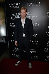 August 16, 2018 - New York, NY, USA - August 16, 2018  New York City..Domhnall Gleeson at the 'The Little Stranger' film premiere on August 16, 2018 in New York City. (Credit Image: © Kristin Callahan/Ace Pictures via ZUMA Press)