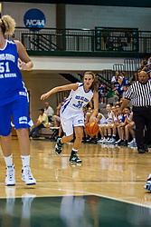 20 June 2009: Katie Yohn.  Illinois Basketball Coaches Association 1A-2A Girls All Star game.