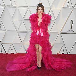 February 24, 2019 - Los Angeles, California, U.S - LINDA CARDELLINI, wearing Schiaparelli, during red carpet arrivals for the 91st Academy Awards, presented by the Academy of Motion Picture Arts and Sciences (AMPAS), at the Dolby Theatre in Hollywood. (Credit Image: © Kevin Sullivan via ZUMA Wire)