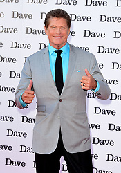 """File photo dated 20/05/15 of David Hasselhoff, who is hoping to meet with a hero student police officer nicknamed """"The Hoff"""" after he saw a video of the Pc jumping into freezing water to save a man in Greater Manchester."""
