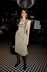 MISS GENEVIEVE CHAPMAN daughter of the Countess of Woolton at The Christmas Cracker - an evening i aid of the Starlight Children's Charity held at Frankies, Knightsbridge on 13th December 2006.<br /><br />NON EXCLUSIVE - WORLD RIGHTS