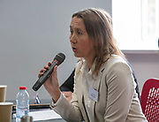 NO FEE PICTURES                                                                                                                                                30/5/19 Community groups from across Ireland attended the Befriending Network Ireland (BNI) seminar in Dublin's Guinness Enterprise Centre on Thursday, which discussed the development of a sustainable community sector. Pictured is Sarah Van Putten, CEO Befriending Network UK. Picture: Arthur Carron