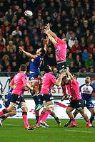Illustration Touche - 19.12.2014 - Grenoble / Stade Francais - 13eme journee de Top 14 -<br />Photo : Jack Robert / Icon Sport