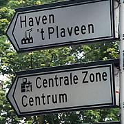 ANWB verkeersbord 't Plaveen