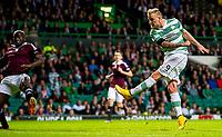 24/09/14 SCOTTISH LEAGUE CUP 3RD RND<br /> CELTIC v HEARTS<br /> CELTIC PARK - GLASGOW<br /> Celtic striker John Guidetti opens the scoring
