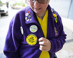 © Licensed to London News Pictures . 29/09/2017 . Torquay , UK . Delegates arrive at the conference venue . The UK Independence Party Conference at the Riviera International Centre . UKIP is due to announce the winner of a leadership election which has the potential to split the party . Photo credit: Joel Goodman/LNP