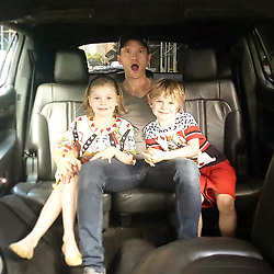 """Neil Patrick Harris releases a photo on Instagram with the following caption: """"Cuteness! \ud83d\udc99 Have an incredible weekend! \ud83d\ude42\n#neilpatrickharris #nph #tagsforlikes #actor #lovehim #handsome #myedit #repost #twins #burtkaharris #family #burtkaharrisfamily #papa #gideonscott #harpergrace #awesome #legendary @nph \ud83d\ude18"""". Photo Credit: Instagram *** No USA Distribution *** For Editorial Use Only *** Not to be Published in Books or Photo Books ***  Please note: Fees charged by the agency are for the agency's services only, and do not, nor are they intended to, convey to the user any ownership of Copyright or License in the material. The agency does not claim any ownership including but not limited to Copyright or License in the attached material. By publishing this material you expressly agree to indemnify and to hold the agency and its directors, shareholders and employees harmless from any loss, claims, damages, demands, expenses (including legal fees), or any causes of action or allegation against the agency arising out of or connected in any way with publication of the material."""