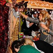 NLD/Amsterdam/20111208- Sky Radio Christmas tree for Charity, Kim Kotter