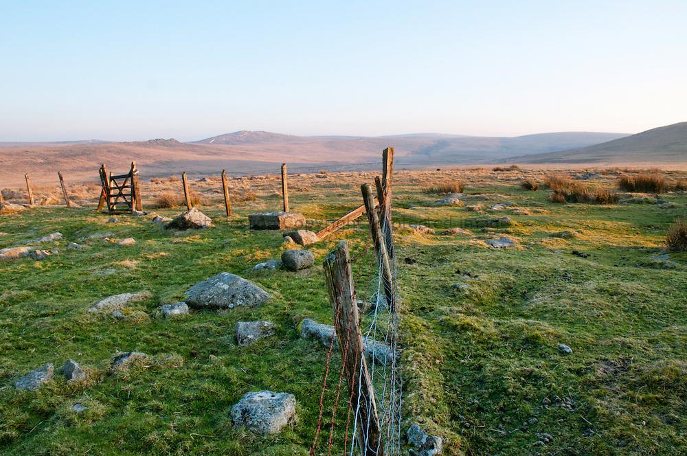 Dartmoor fencing