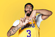 NBA Champion and Lakers center Anthony Davis photographed in Los Angeles, California. (Photo by Johnnie Izquierdo/Credit Union)