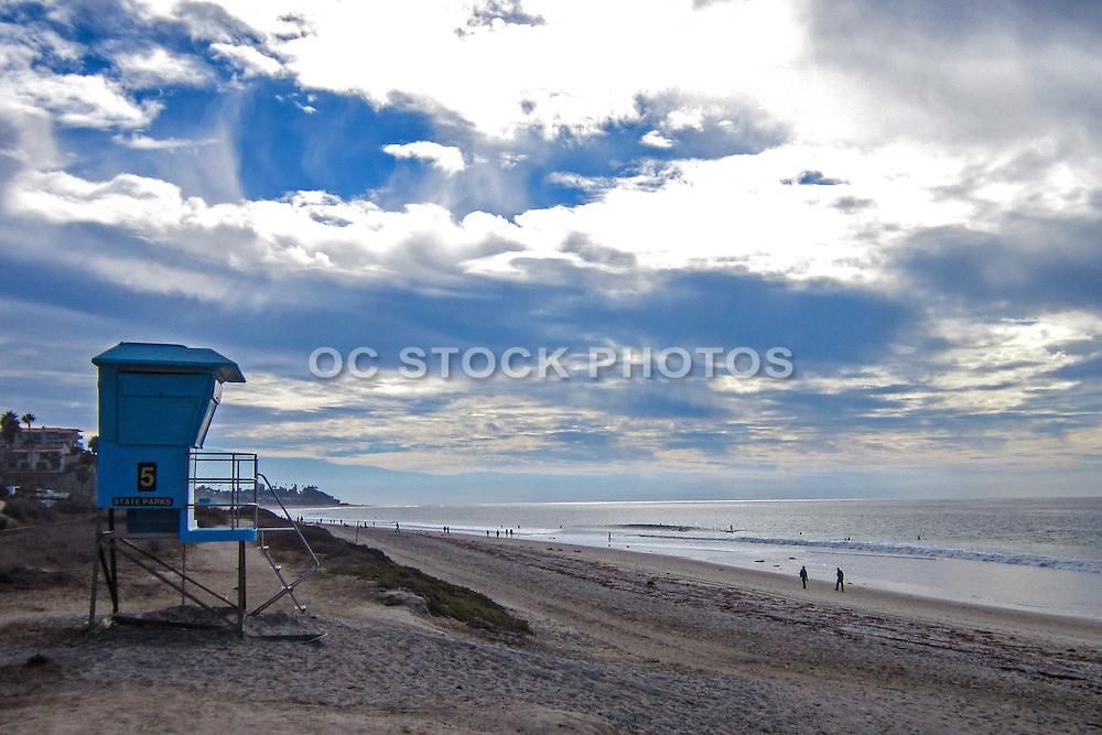 Winter Cloudy Beach Walk in San Clemente