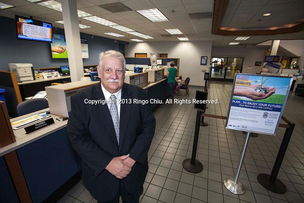 "Michael ""Mike"" Padgett, CEO of Los Angeles Police Federal Credit Union in Sherman Oak. (Photo by Ringo Chiu/PHOTOFORMULA.com)."