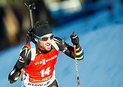 BEATRIX Jean Guillaume (FRA) competes during Men 12,5 km Pursuit at day 3 of IBU Biathlon World Cup 2014/2015 Pokljuka, on December 20, 2014 in Rudno polje, Pokljuka, Slovenia. Photo by Vid Ponikvar / Sportida