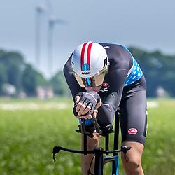 EMMEN (NED) June 16: <br />CYCLING <br />Dutch Nationals Time Trail men U23 Roel van Sintmaartensdijk