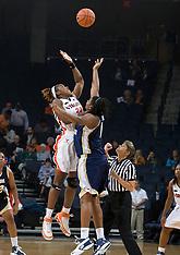 20071112 - #14 George Washington at Virginia (NCAA Women's Basketball)