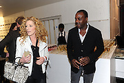 KELLY HOPPEN, Vanity Fair  hosted  UK Premiere and party for Beyond Time. A film about the artist William Turnbull made by his son Alex Turnbull. Narrated by Jude Law. I.C.A. London. 17 November 2011<br /> <br />  , -DO NOT ARCHIVE-© Copyright Photograph by Dafydd Jones. 248 Clapham Rd. London SW9 0PZ. Tel 0207 820 0771. www.dafjones.com.