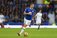 Phil Jagielka of Everton in action. Premier league match, Everton v Swansea city at Goodison Park in Liverpool, Merseyside on Saturday 19th November 2016.<br /> pic by Chris Stading, Andrew Orchard sports photography.