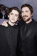 Timothée Chalamet, and Christian Bale