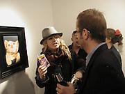 Phillipa Horan and Horst Diekgerdes. Jakie and Denise Chapwoman private view. Modern Art. 73 Redchurch St. London E2 7DJ. © Copyright Photograph by Dafydd Jones 66 Stockwell Park Rd. London SW9 0DA Tel 020 7733 0108 www.dafjones.com