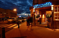 Reportage for Paris Match Belgium<br /> <br /> Esmeralda next to the casino in Knokke, is a one star Michelin restaurant. Knokke is Belgium's version of the Hamptons, an exclusive community on the North Sea, where the well-heeled come to play and be seen. (Photo © Jock Fistick)